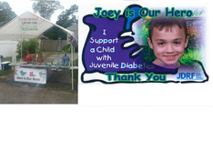 Charity of the Quarter: JDRF: Juvenile Diabetes ~ JOEY IS OUR HERO/JEN'S LEMONADE STAND